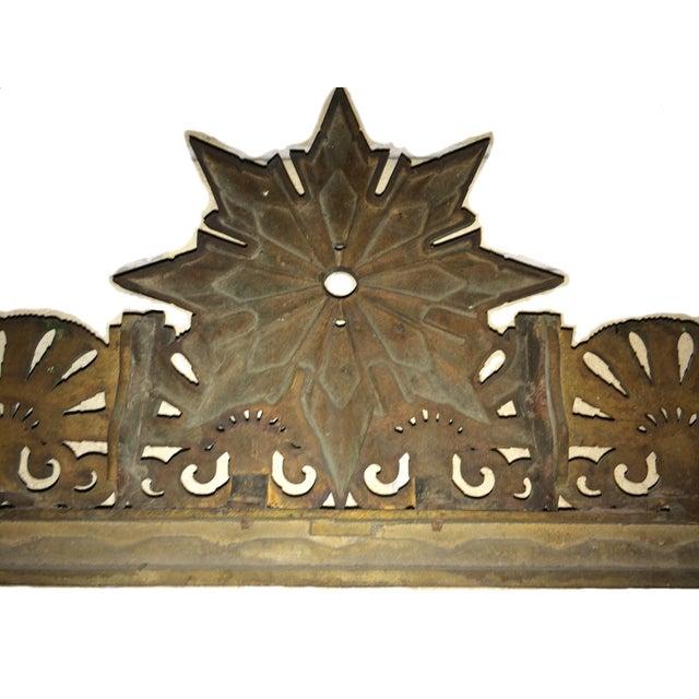 Art Deco Bronze/Brass Elevator Door Frame - Image 8 of 10