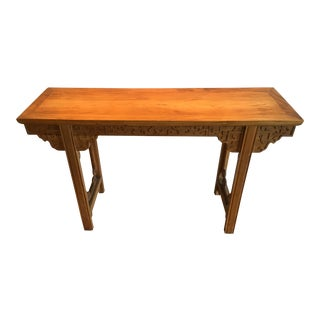 20th C. Chinese Altar Console Table