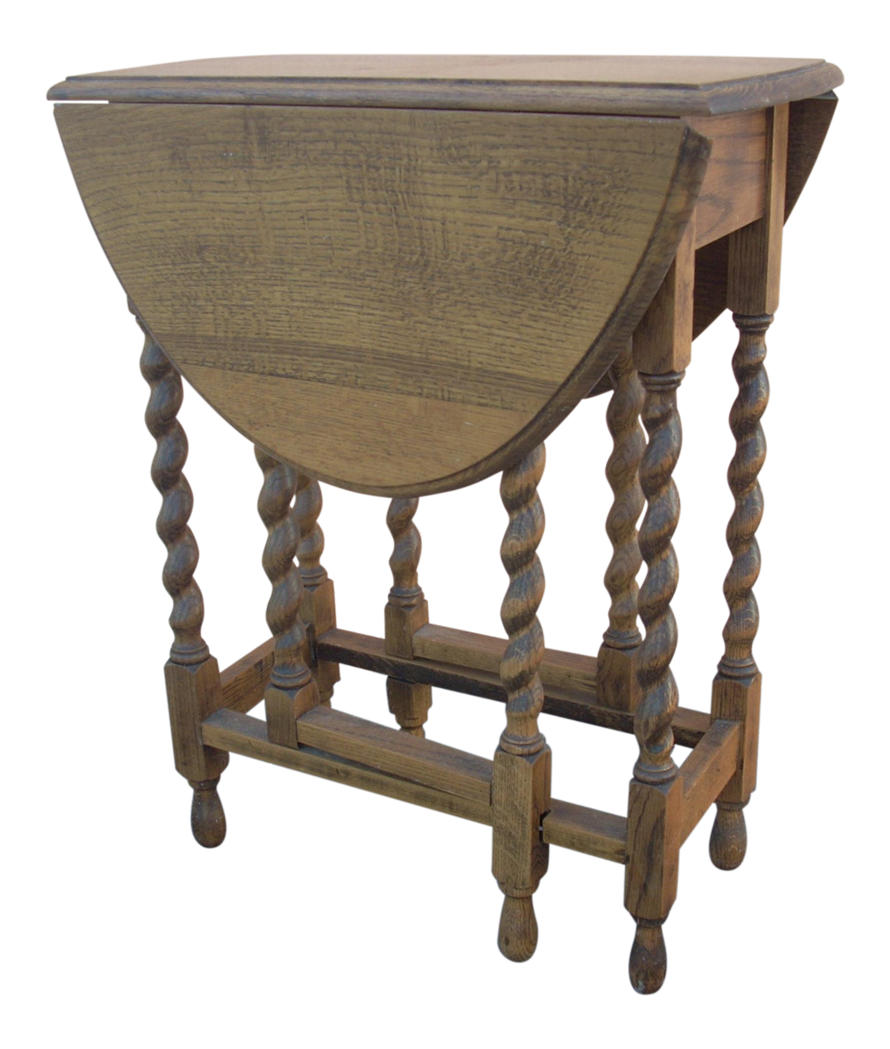 Antique English Gate Leg Table For Sale