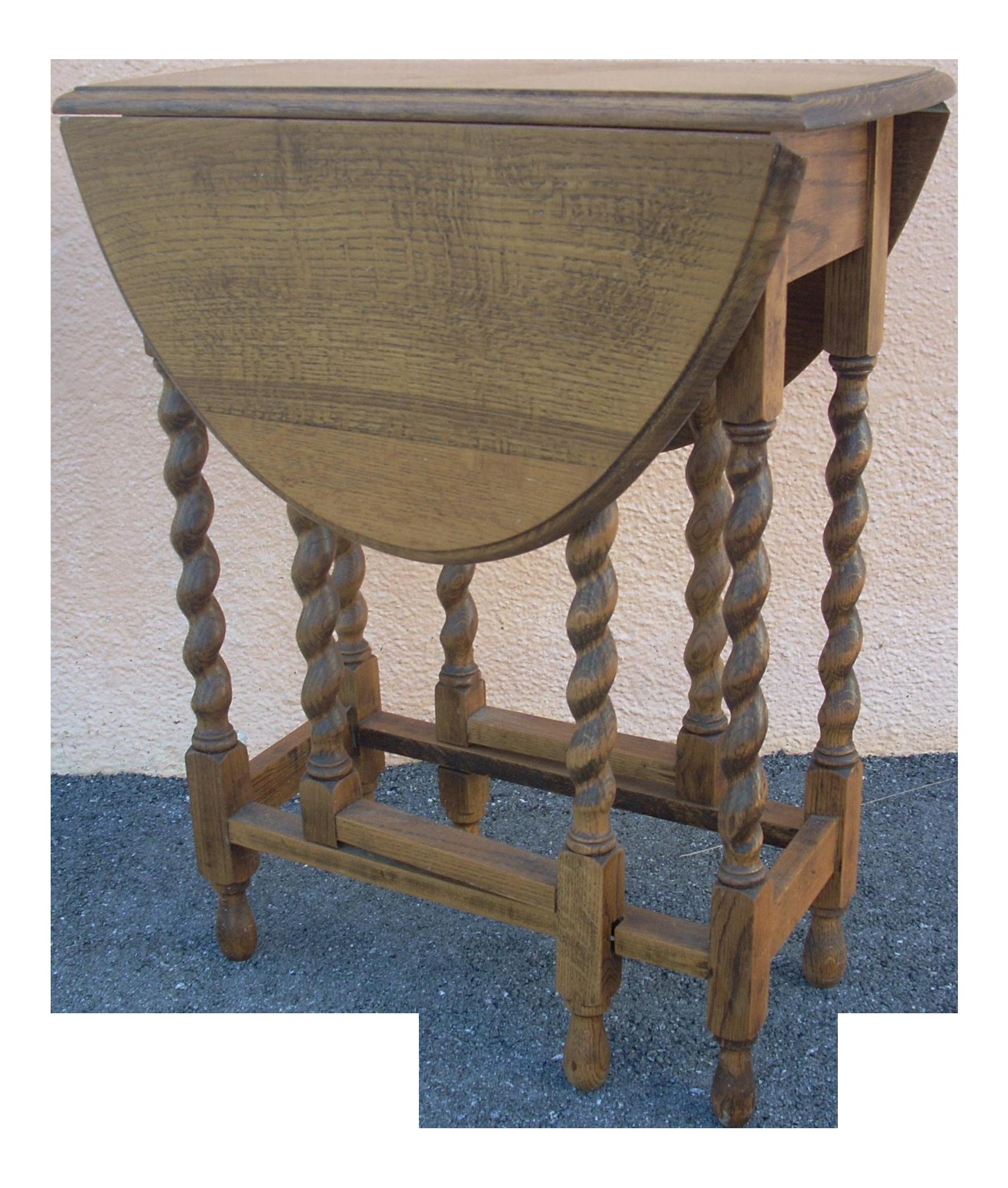 Ordinaire Antique English Gate Leg Table For Sale