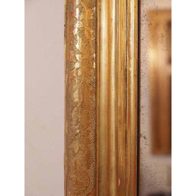Antique Italian Gilt Wood Mirror - Image 4 of 7