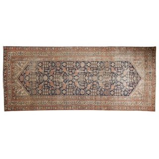 "Vintage Malayer Rug Runner - 4'10"" X 11'6"" For Sale"