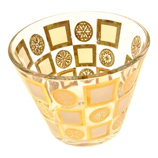 Circles and Squares Ice Bucket