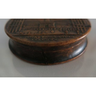 19th Century Empire Pressed Wood Snuff Box of Place Vendome Preview