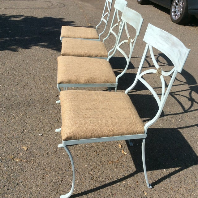 French Empire Chairs - Set of 4 For Sale - Image 10 of 11