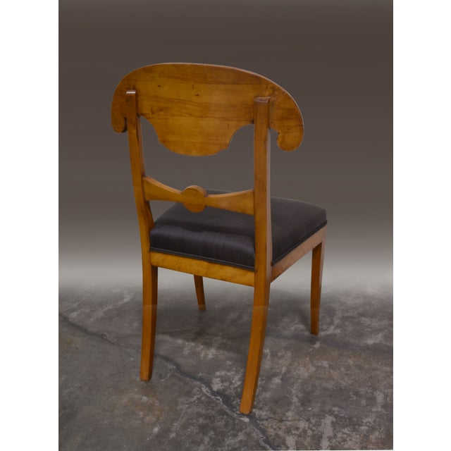 Biedermeier Dining Chairs - Set of 4 - Image 3 of 6