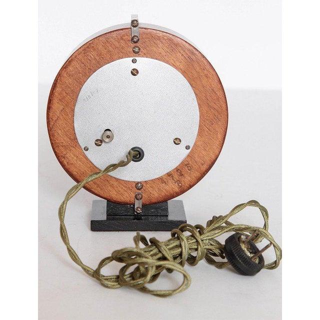 1930s Machine Age Gilbert Rohde Herman Miller Century of Progress Clock, No. 4725B For Sale - Image 5 of 11