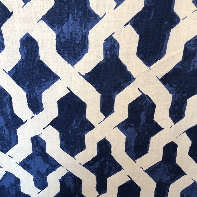 Agiasos Design by Richard Smith No9 Thompson Fabric For Sale In New York - Image 6 of 7