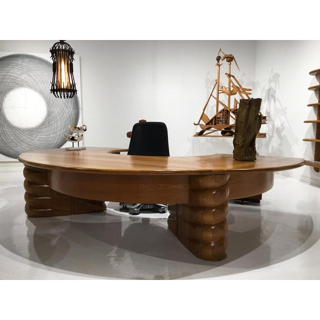 1970s Wendell Castle Custom Desk For Sale - Image 5 of 7