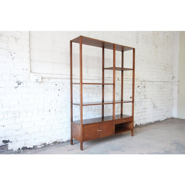 """Winchendon Furniture """"Planner Group"""" Paul McCobb Planner Group Mid-Century Wall Unit or Room Divider For Sale - Image 4 of 11"""