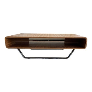 Mid-Century Bentwood Coffee Table For Sale