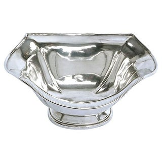 Antique Sterling Silver Sugar Bowl For Sale