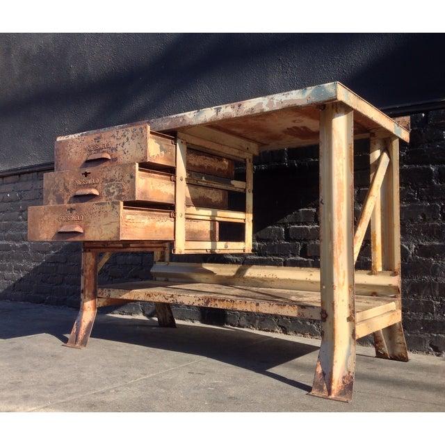 Industrial Desk - Image 4 of 7