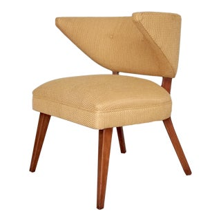 Mid-Century Danish Modern Restored Horn Chair For Sale