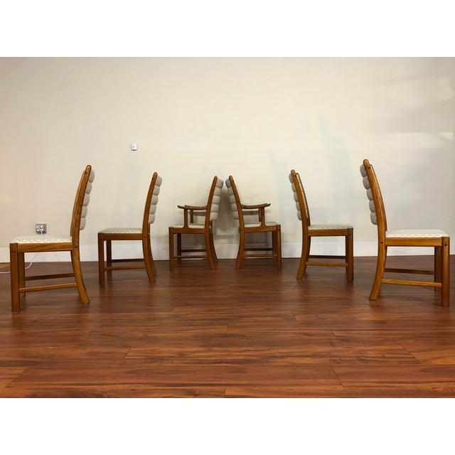 Mid-Century Modern Johannes Andersen for Uldum Vintage Teak Dining Chairs - Set of 6 For Sale - Image 3 of 12