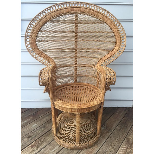 Vintage Peacock Chair - Image 2 of 10