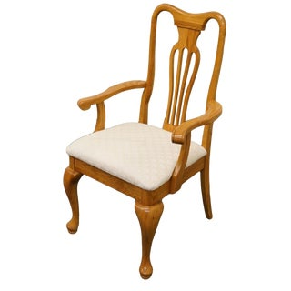 Late 20th Century Vintage Keller Furniture Oak Dining Chair For Sale