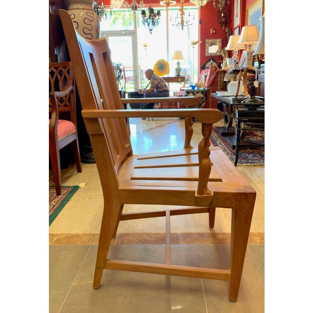 1990s Vintage Sutherland Matisse Teak Dining Chairs- A Pair For Sale - Image 9 of 13