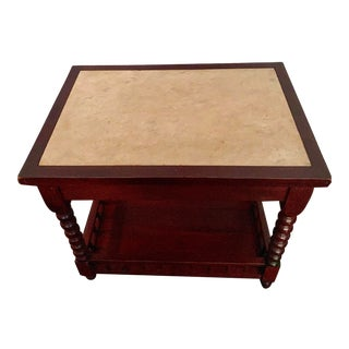 1850s British Colonial Foyer/Side Table For Sale