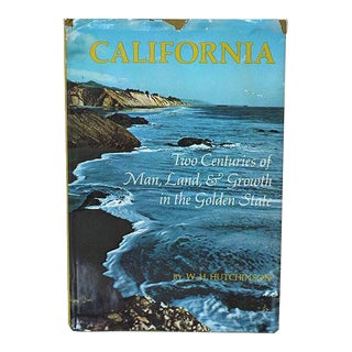 """California"" Hardcover Coffee Table Book For Sale"