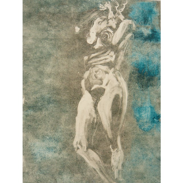 Soft Green Nude Monotype - Image 3 of 6