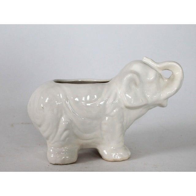 Small Vintage Elephant Planter - Image 6 of 6
