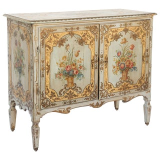 Hand-Painted 18th Century Venetian Buffet For Sale