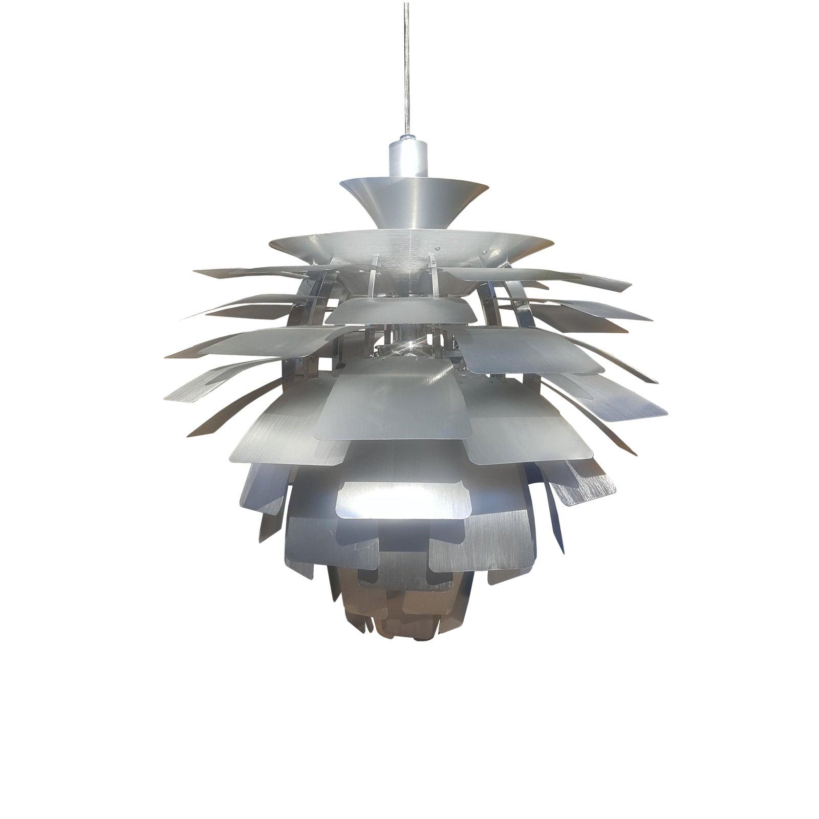 Mid-Century Modern Flower Ceiling Light | Chairish