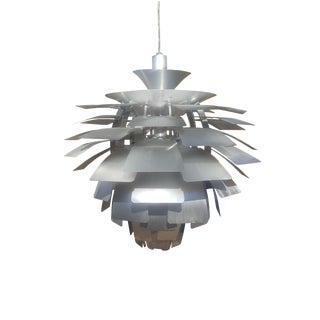 Mid-Century Modern Flower Ceiling Light For Sale