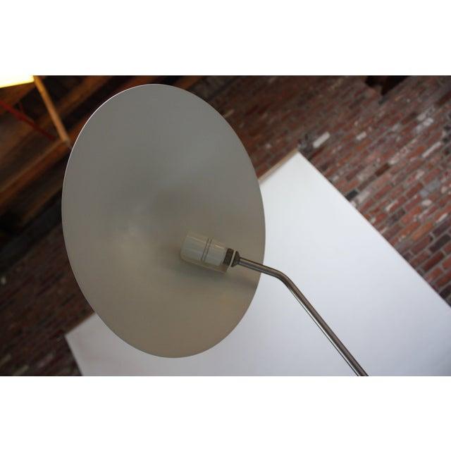 Metal Jørgen Gammelgaard Floor Lamp in Aluminum and Chrome For Sale - Image 7 of 13