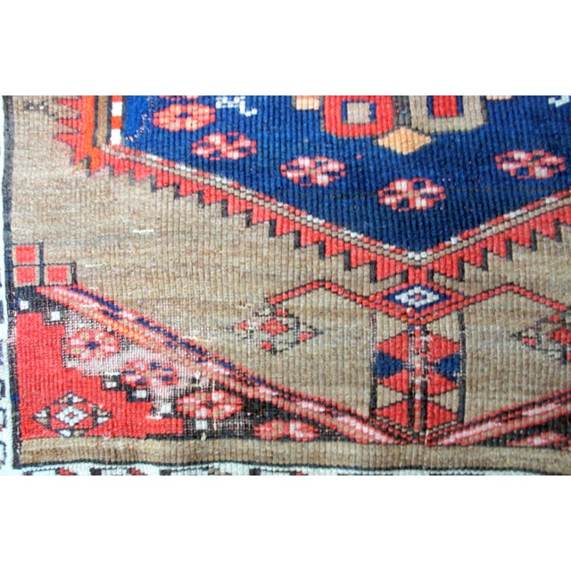 "Early 20th Century Vintage Turkish Handknotted Anatolian Tribal Runner-3'4x11'2"" For Sale - Image 5 of 13"