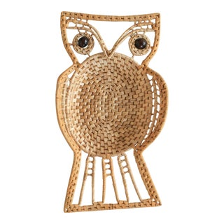 Vintage Owl Wall Hanging For Sale