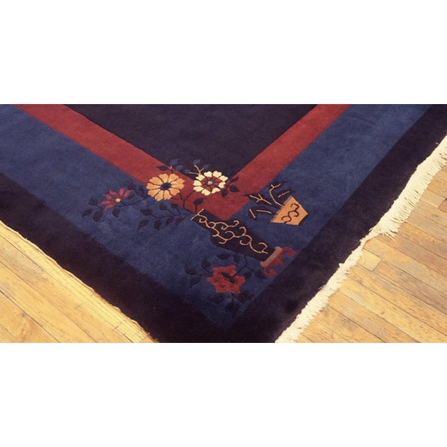 """Chinese Antique Chinese - Peking Rug 11'0""""x15'0"""" For Sale - Image 3 of 6"""