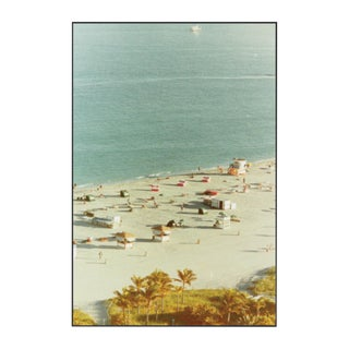 """Miami, South Beach 1"" Framed Photo Print on Aluminum For Sale"