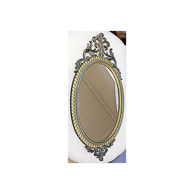 French Resin Rococo Mirror For Sale - Image 3 of 6