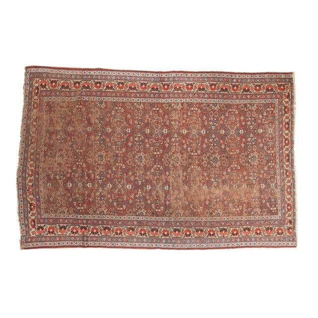 """Antique Kurdish Carpet - 5'10"""" x 8'1"""" For Sale - Image 13 of 13"""