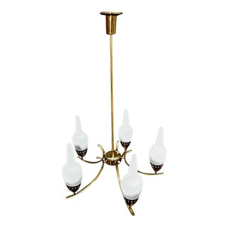 1950 Italian Chandelier by Arredoluce For Sale