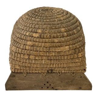 French Bee Skep – Medium For Sale