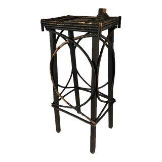 Vintage Folk Art Side Table For Sale