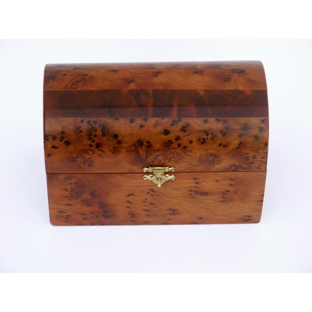Decorative Juniper Burl Wood Box - Image 5 of 10