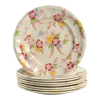 Spode Honeywall Appetizer Plate - Set of 8 For Sale