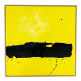 """Image of John O'Hara. Tar, 8. 49x49"""" Encaustic Painting For Sale"""