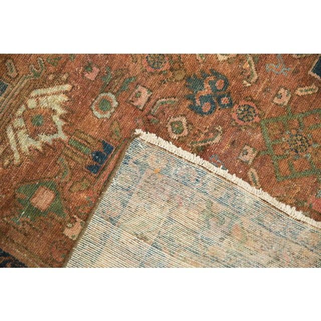 """Vintage Distressed Malayer Rug - 4' X 6'1"""" For Sale - Image 9 of 13"""