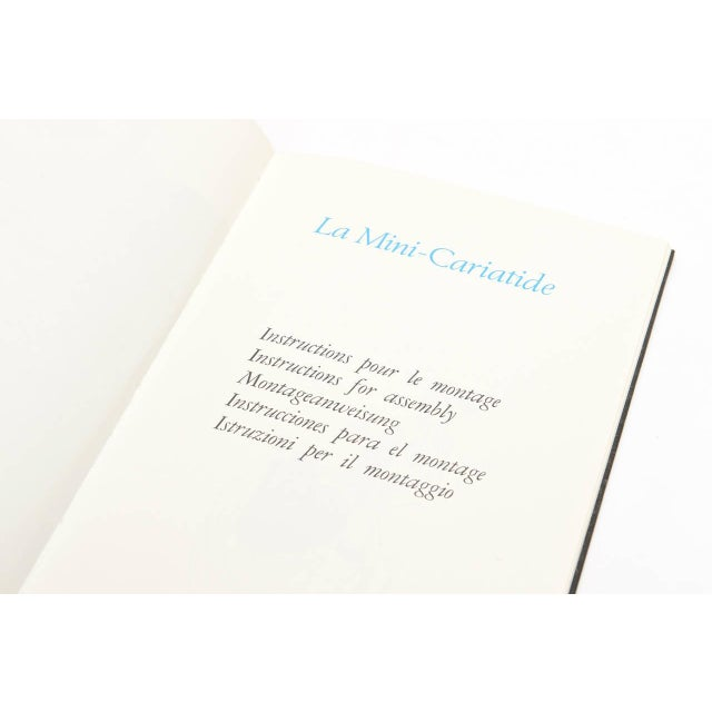 La Mini Cariatide Miguel Berrocal Puzzle Sculpture For Sale In Miami - Image 6 of 11