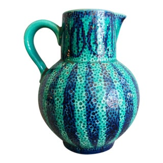 Mid 20th Century Ceramic Pitcher, West Germany For Sale