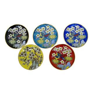 Amuse Bouche Porcelain Plates - Set of 5 For Sale