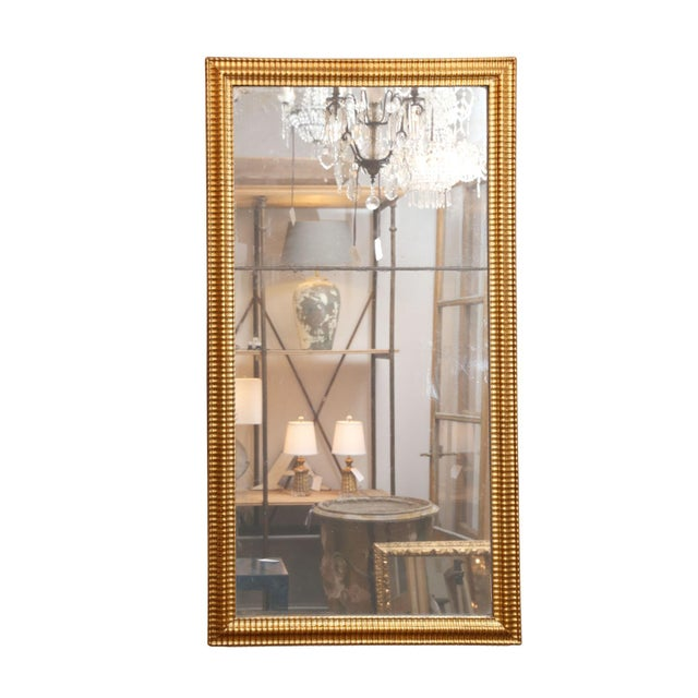 Late 18th Century Louis XVI Gilded Mirror For Sale - Image 5 of 8