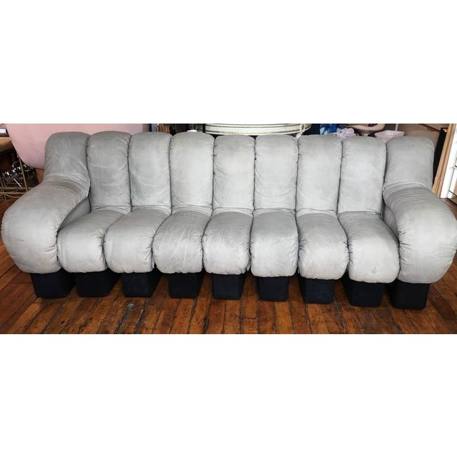 1970s Vintage Original De Sede Ds600 Non-Stop Modular Sectional Sofa For Sale In Philadelphia - Image 6 of 9
