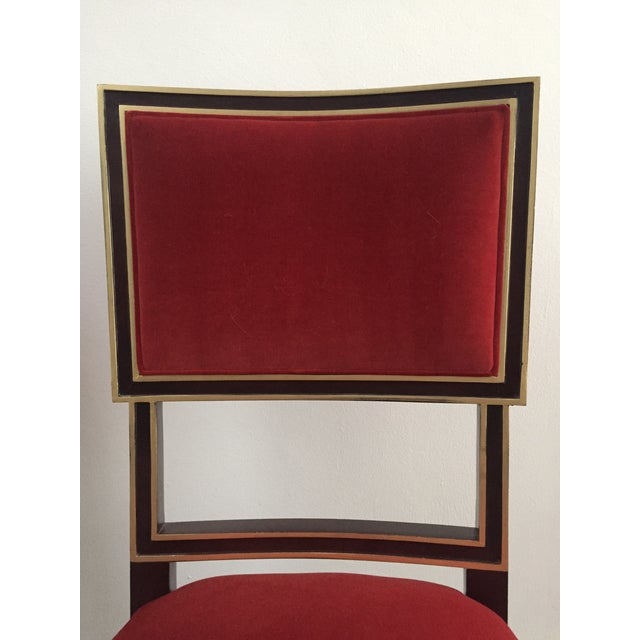 Hickory Chair Furniture Company Hickory Chair Ilsa Side Chairs - A Pair For Sale - Image 4 of 7