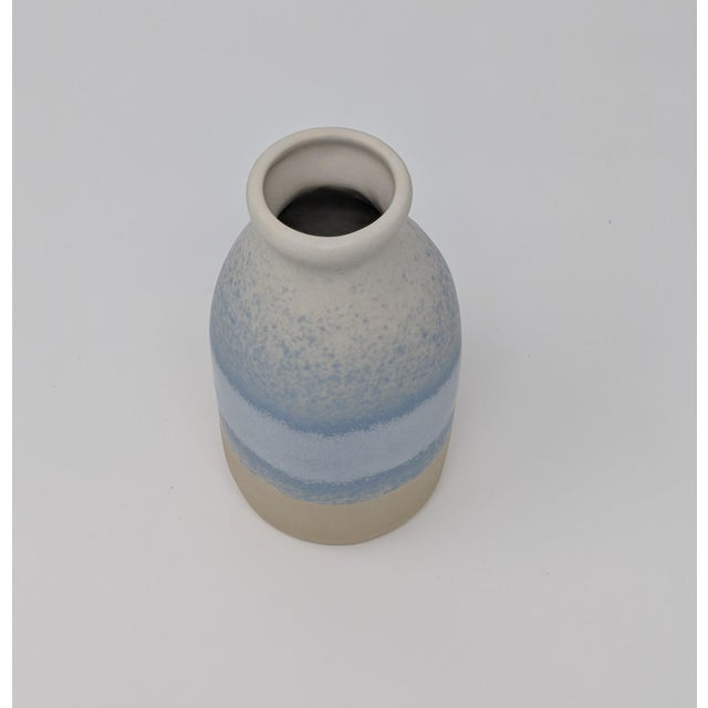 Blue and White Gradient Vase For Sale - Image 12 of 12